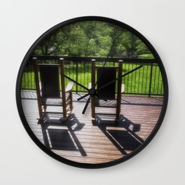 Take a Break at Great Smokey Mountain National Park Wall Clock