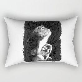 Macaque Rectangular Pillow