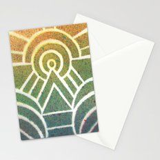 Drawing Meditation: Stencil 2 - Print 1 Stationery Cards