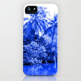 Florida in Blue iPhone Case