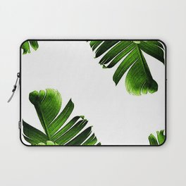 Green banana leaf Laptop Sleeve