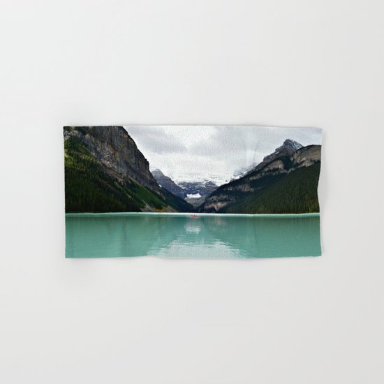 Lake Louise #mountains Hand & Bath Towel