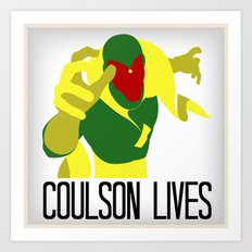 Agent Coulson, My One Good Eye. Art Print