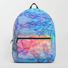 Felted tribal kaleidoscope Backpack