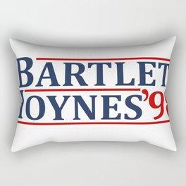 Bartlet and Hoynes 1998 Rectangular Pillow