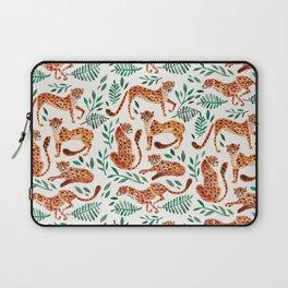Cheetah Collection – Orange & Green Palette Laptop Sleeve