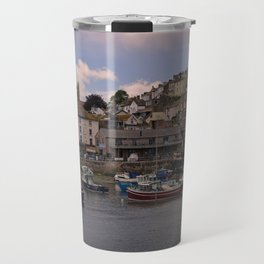 Brixham Harbour Travel Mug
