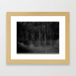 film photograph taken with crown graphic 4x5 camera Framed Art Print