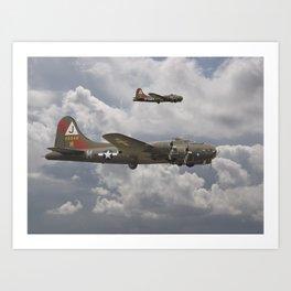 B17 - 511 Squadron Art Print