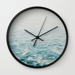 Foggy Seas Wall Clock