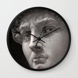 "Michelangelo ""David"" oils Wall Clock"