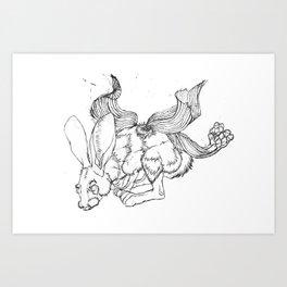 Sniffler Art Print