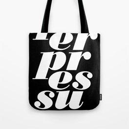 peerpressure | dark Tote Bag