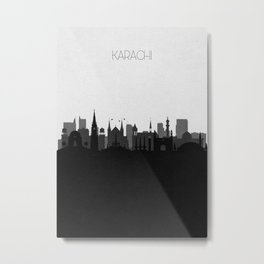 City Skylines: Karachi Metal Print