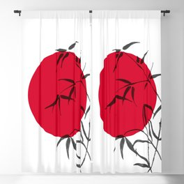 Japan fever Blackout Curtain