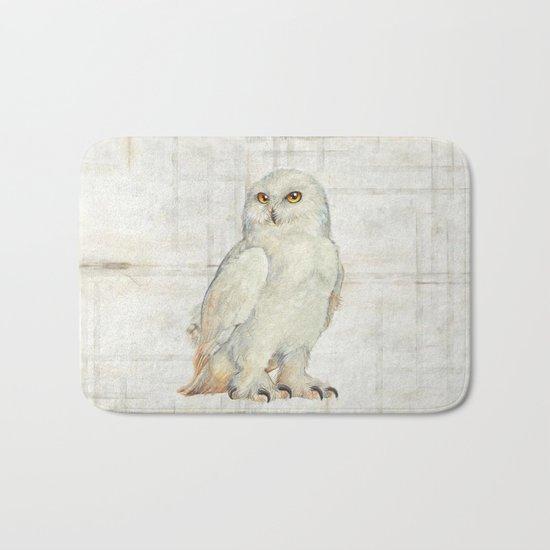 SnowOwl Bath Mat