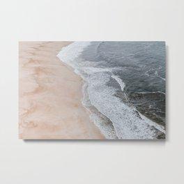seashore iv / portugal Metal Print