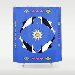 Las Toninas Shower Curtain