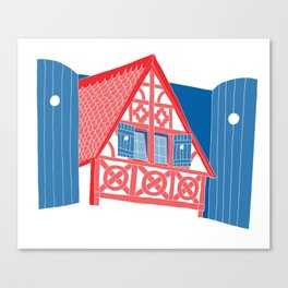 French House Canvas Print
