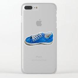 Tenis azulito Clear iPhone Case