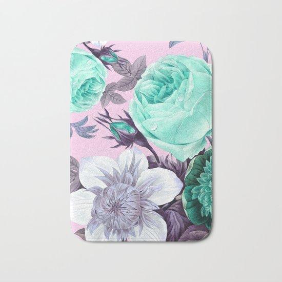 Blushing Bloom Bath Mat