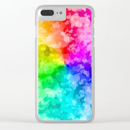 LGBT Love Gay Pride Clear iPhone Case