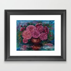 Just for You (Palette knife) Framed Art Print
