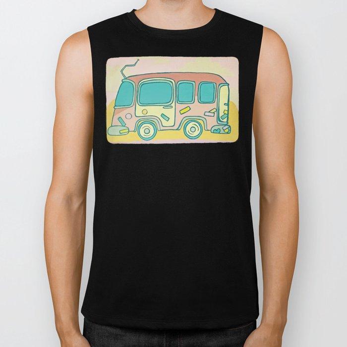 Hippie Bus Biker Tank