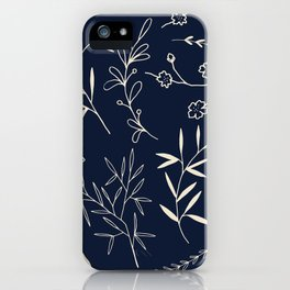 Japanese Floral iPhone Case