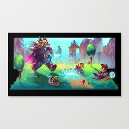 Diddy Kong Racing Canvas Print