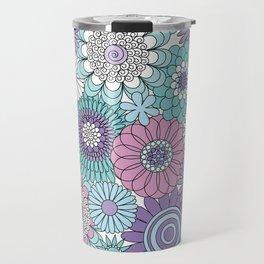 Thrifted Linen Lavender Travel Mug