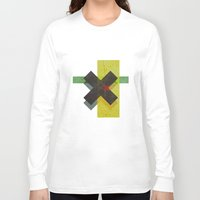 cross Long Sleeve T-shirts featuring CROSS by Metron