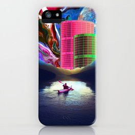 """""""Follow the Lights, They Lead to Something"""" iPhone Case"""