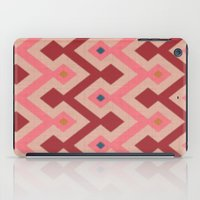 kilim iPad Cases featuring Kilim in pink by Domesticate