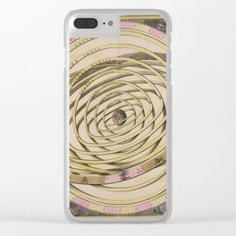 Orbits of the Planets around the Earth, 1708 Clear iPhone Case