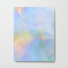 Iridiscent Pastel Metal Print