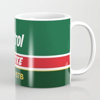 f1 Mugs featuring Lotus F1 107B 1993 by Krakenspirit