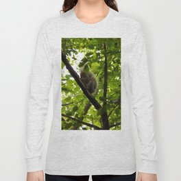 Peek a boo Squirrel Long Sleeve T-shirt