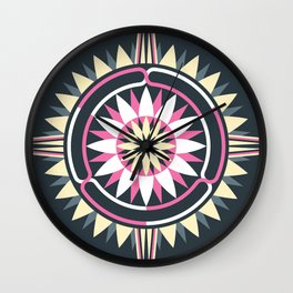Daisy Chain Wall Clock