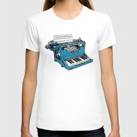 poetry T-shirts featuring The Composition. by Matt Leyen