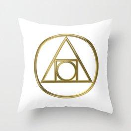 Alchemical symbol Throw Pillow