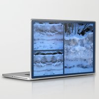 geology Laptop & iPad Skins featuring The Geology of Snow by World Raven