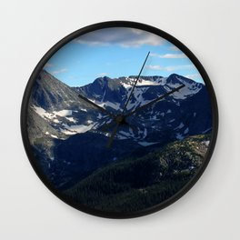Rocky Mountain National Park, Colorado Wall Clock
