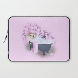 Hedgehog Bubble Bath Laptop Sleeve
