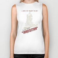 dragon age inquisition Biker Tanks featuring Inquisition by PsychoBudgie