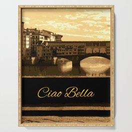 Italy Ciao Bella Serving Tray