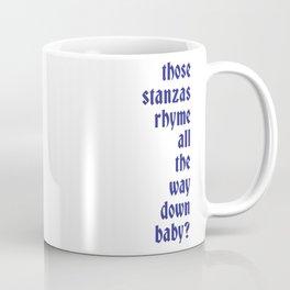 Stanzas Coffee Mug