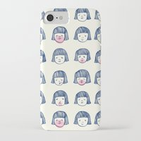 bubble iPhone & iPod Cases featuring Bubble bubble bubble gum by Young Ju