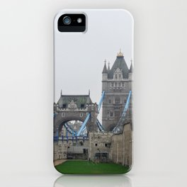 Tower and Tower Bridge iPhone Case