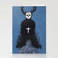 true detective Stationery Cards featuring True detective by jgart